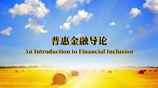 普惠金融导论